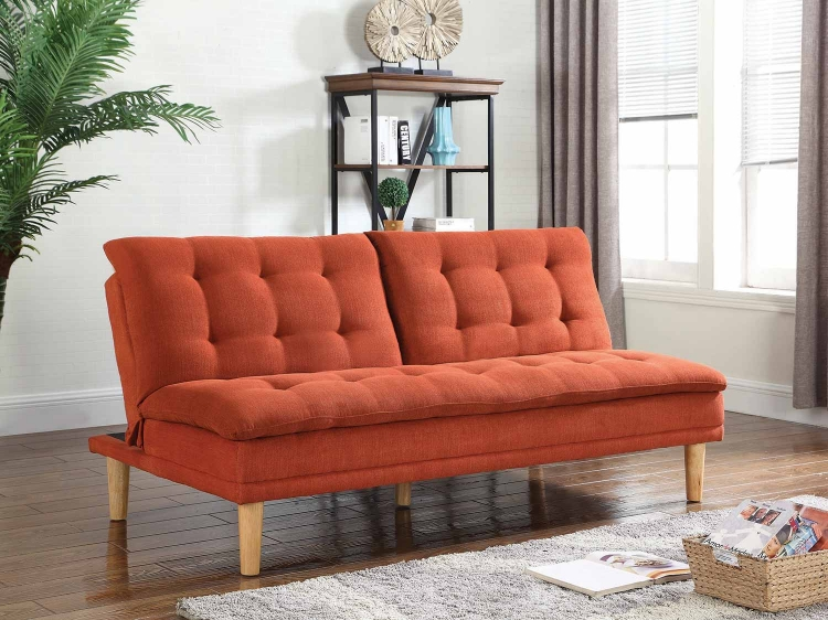 503955 Sofa Bed - Orange
