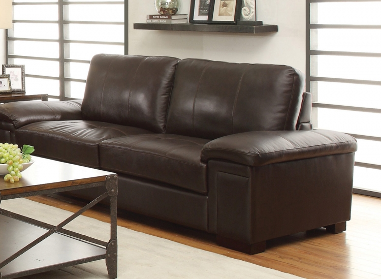 Winfred Sofa - Dark Brown