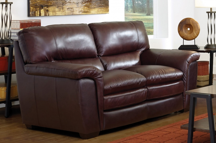 Burton Love Seat - Brown