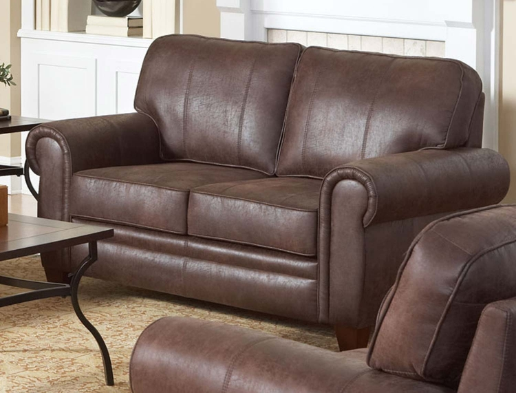 Bentley Love Seat - Brown