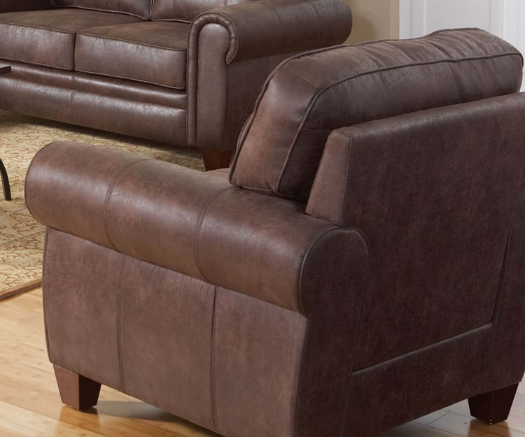 Bentley Chair - Brown - Coaster