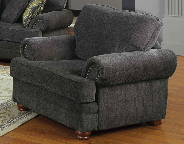 Colton Chair - Smokey Grey - Coaster