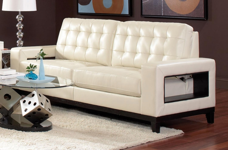 Paige Sofa - Cream - Coaster