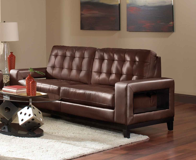 Paige Sofa - Brown - Coaster