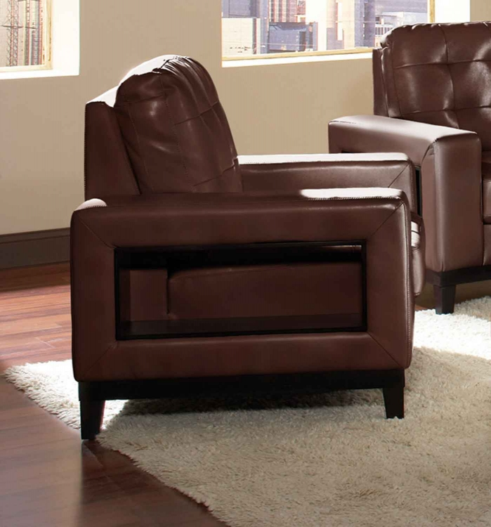 Paige Chair - Brown - Coaster