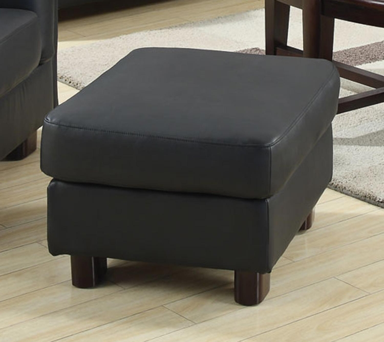 Sawyer Ottoman - Black - Coaster
