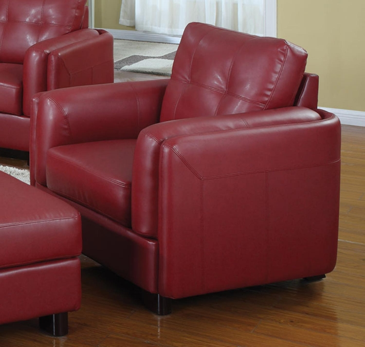 Sawyer Chair - Red - Coaster