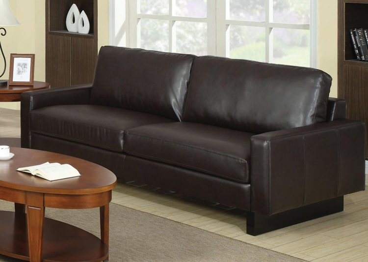 Ava Sofa - Brown - Coaster