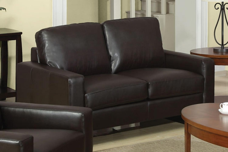 Ava Love Seat - Brown