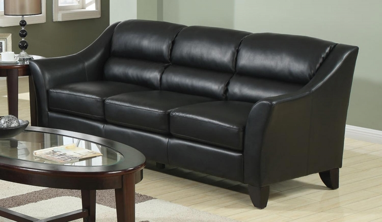Brooklyn Sofa - Black - Coaster