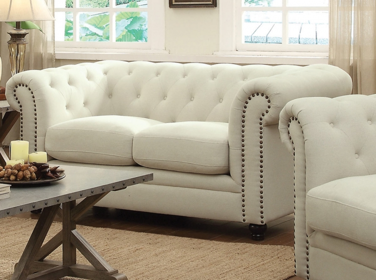 Roy Love Seat - Oatmeal