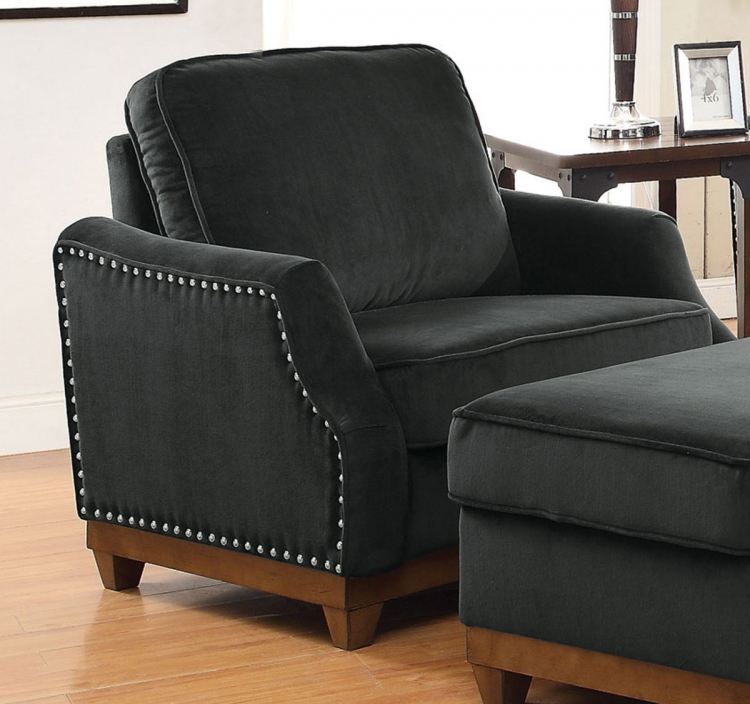 Acklin Chair - Charcoal
