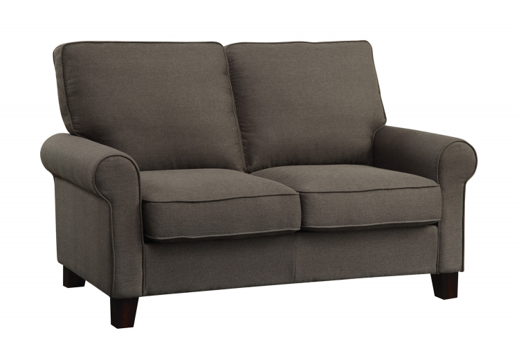 Noella Love Seat - Grey