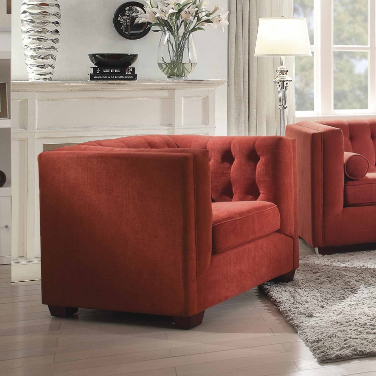 Cairns Chair - Crimson