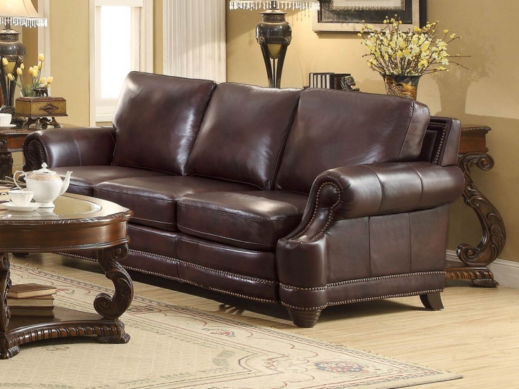 Crawford Sofa - 2 Tone Brown