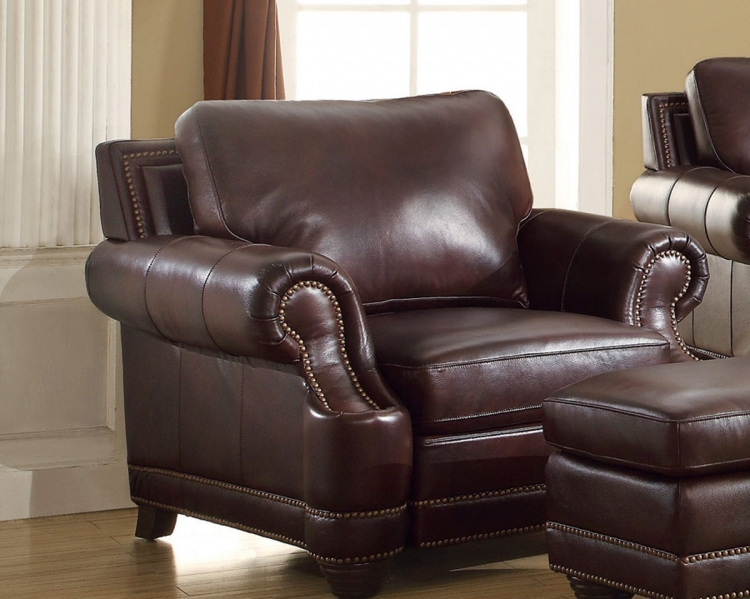 Crawford Chair - 2 Tone Brown