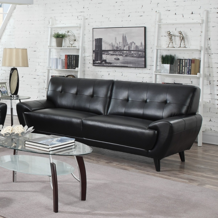 Leskow Sofa - Black