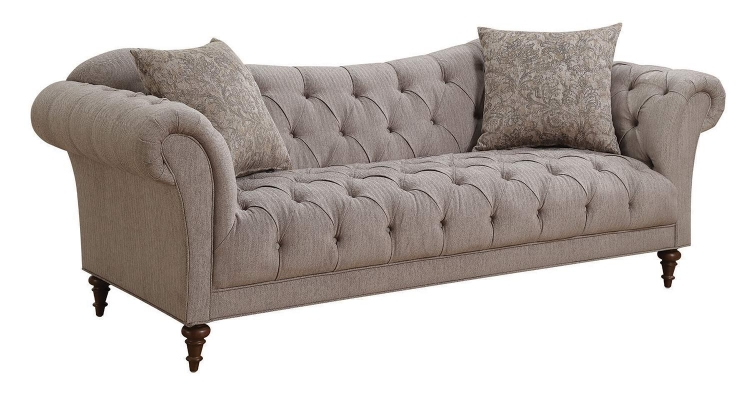 Alasdair Sofa - Light Brown