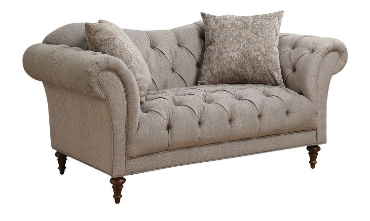 Alasdair Loveseat - Light Brown