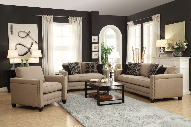 Pratten Sofa Set - Wheat