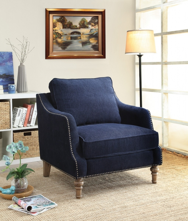 Vessot Chair - Ink Blue
