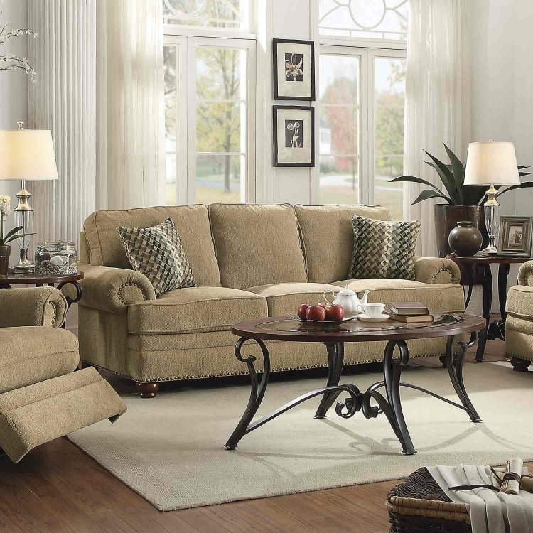 Colton Sofa - Wheat