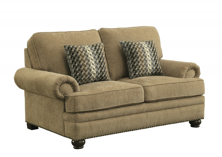 Colton Love Seat - Wheat
