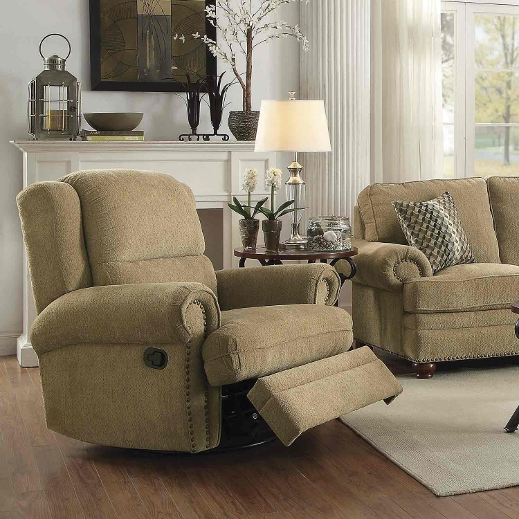 Colton Recliner - Wheat