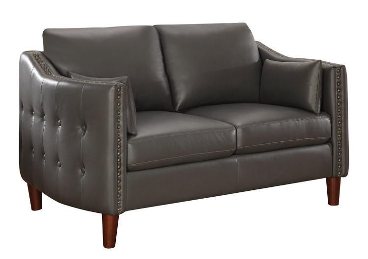 Braxten Loveseat - Grey