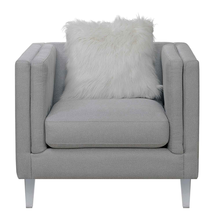 Hemet Chair - Light Grey