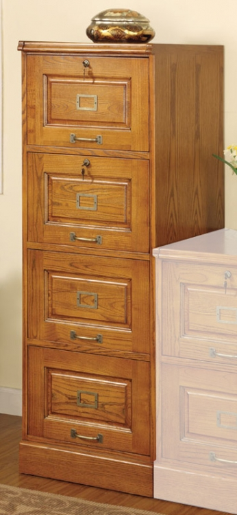 Palmetto Four Drawer File Cabinet - Coaster