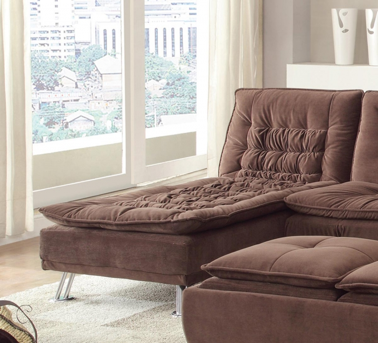 Lyell Chaise - Brown
