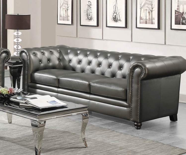 Roy Sofa - Gunmetal