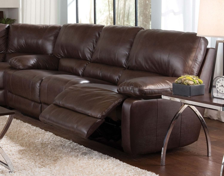 Geri Motion Sofa - Brown