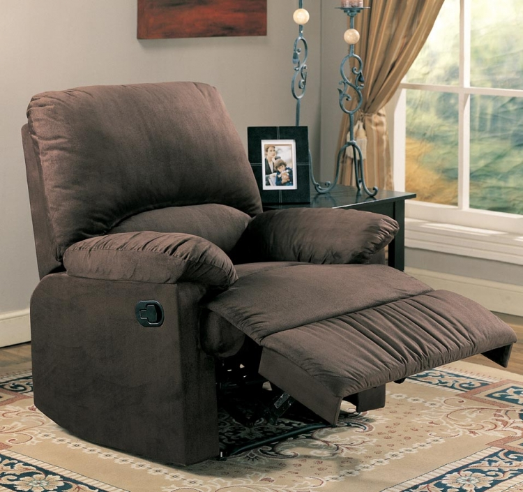 60026X Glider Recliner - Chocolate