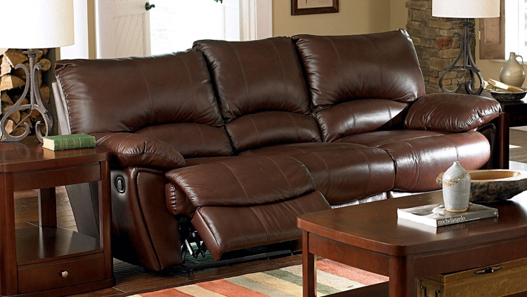 Clifford Power Reclining Sofa - Dark Brown