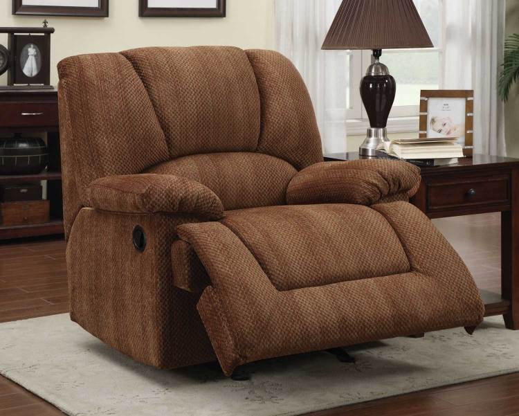 600339 Glider Recliner - Multi-Colored
