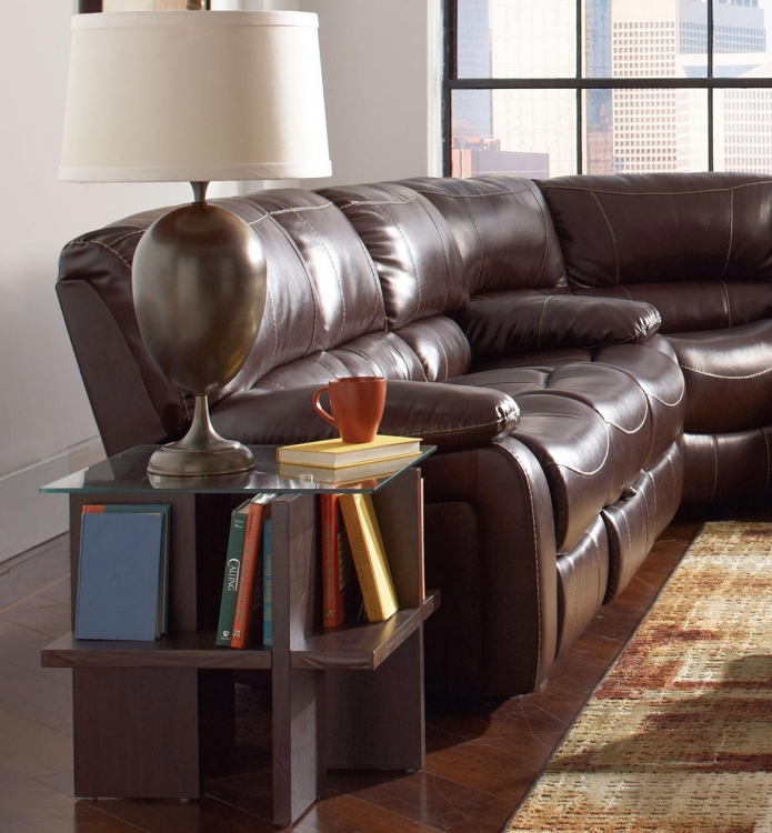 Alan Motion Sofa - Dark Brown