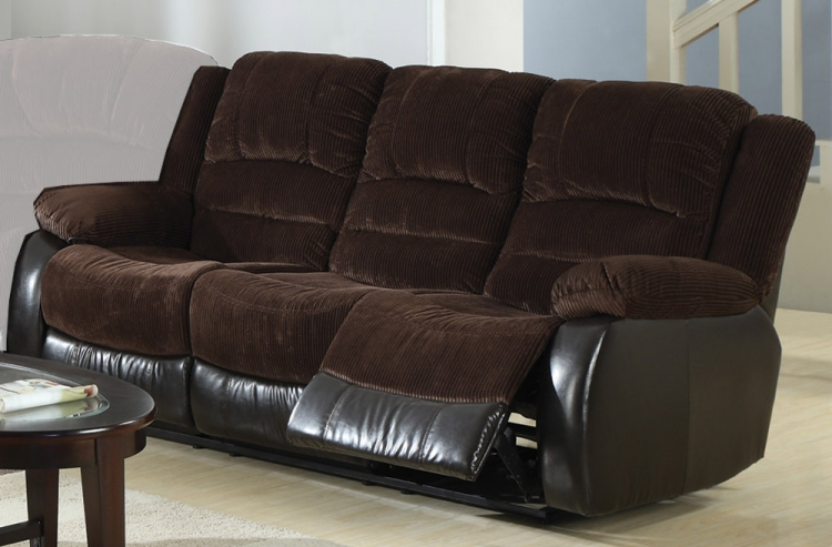 Johanna Motion Sofa - Chocolate - Coaster