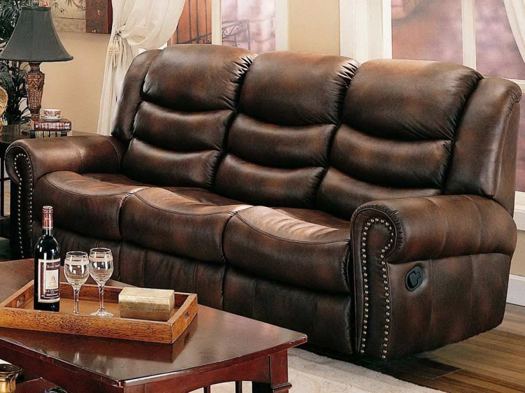 Aiden Double Reclining Sofa - Coaster