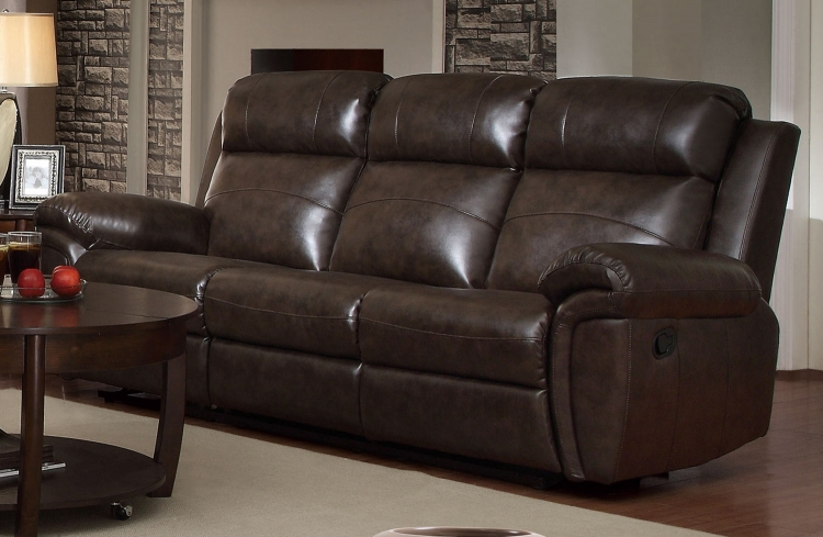 Gideon Motion Sofa - Brown