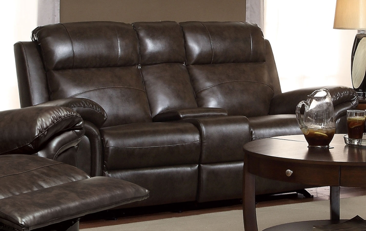 Gideon Love Seat - Brown