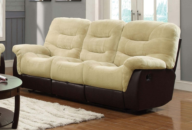 Elaina Motion Sofa - Cream
