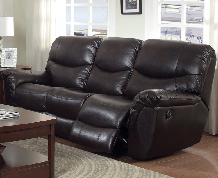 Partridge Motion Sofa - Dark Brown