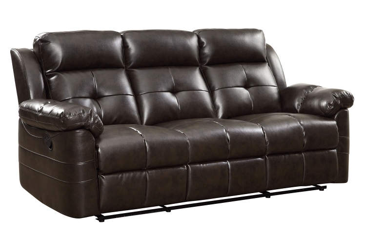 Keating Motion Sofa - Dark Brown
