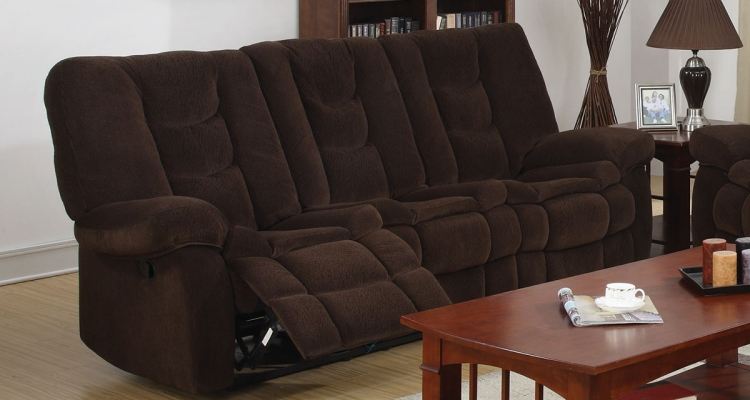 Gail Motion Sofa - Chocolate