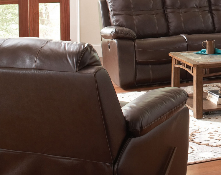 Holloway Motion Recliner - Dark Brown