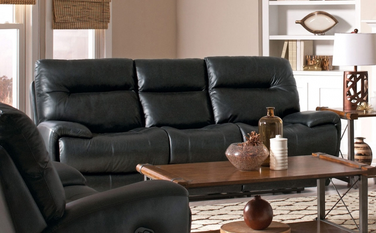 Sartell Motion Power Sofa - Black