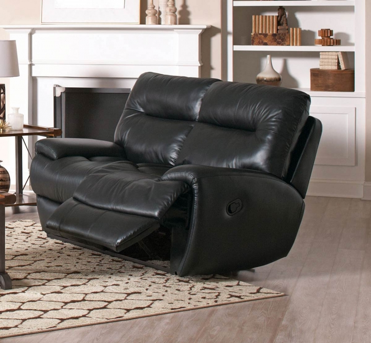 Sartell Motion Power Love Seat - Black