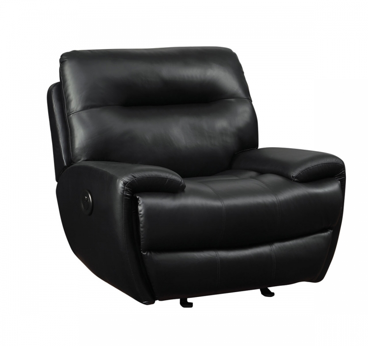 Sartell Motion Power Recliner - Black